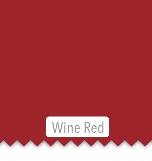 wine red sheets